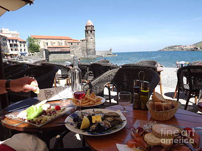 Mediterranean Lunch Poster by France  Art