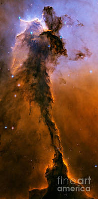 M16 Ngc 6611 Eagle Nebula Poster by NASA  ESA  Space Telescope Science Institute