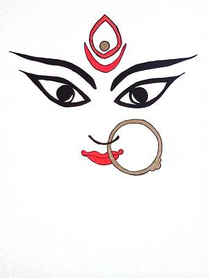 Maa Kali Poster by Kruti Shah