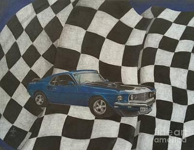 Mach Speed Poster by Ambre Wallitsch