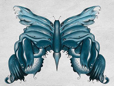 Madam Butterfly Poster by Brenda Bryant