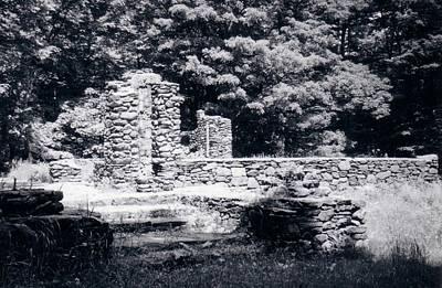 Madame Sherri Castle Ruins Poster by David Fiske