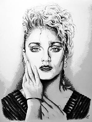 Madonna Poster by Andrew Read