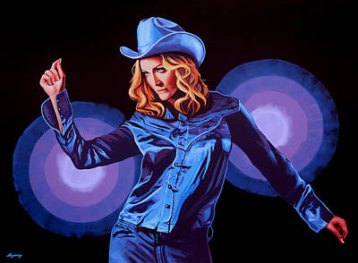 Madonna Painting Poster by Paul Meijering