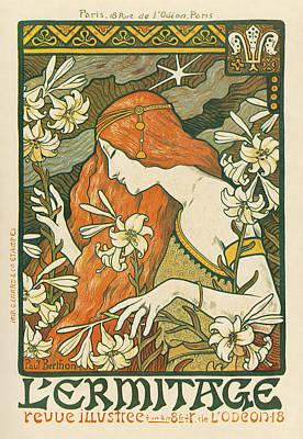 Magazine L'ermitage, 1900 Poster by Granger