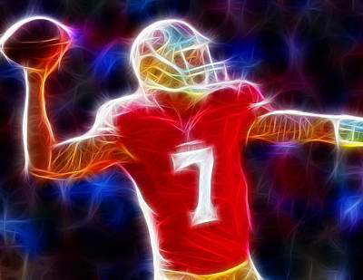 Magical Colin Kaepernick Poster by Paul Van Scott