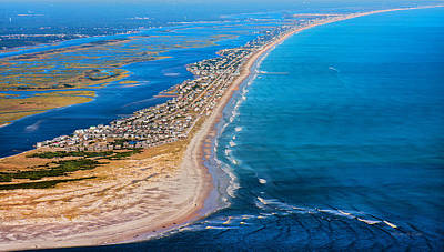 Magical Topsail Island Poster by Betsy Knapp