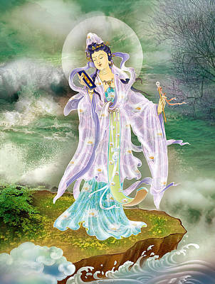 Malang Guanyin Poster by Lanjee Chee