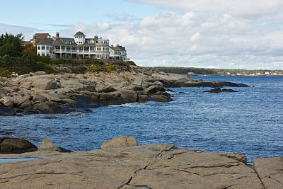 Maine Coastline Poster by Gail Maloney