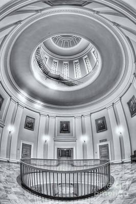 Maine State House Rotunda II Poster by Clarence Holmes