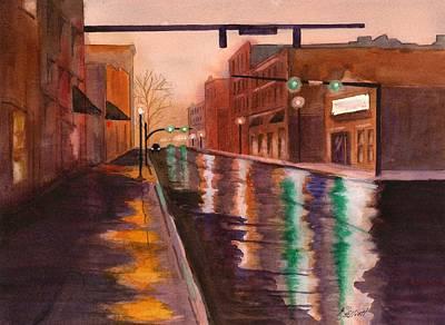 Mainstreet Poster by Marsha Elliott
