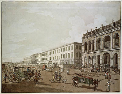 Major Buildings Of Colonial Calcutta Poster by British Library