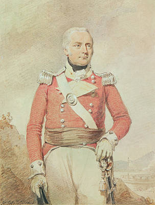 Major General Patrick Mckenzie, 1808 Poster by Henry Edridge