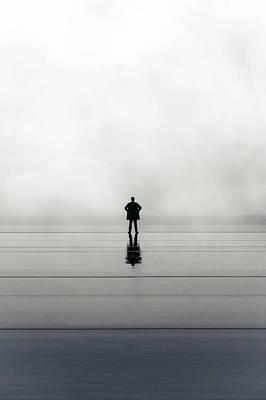 Man Alone Poster by Joana Kruse
