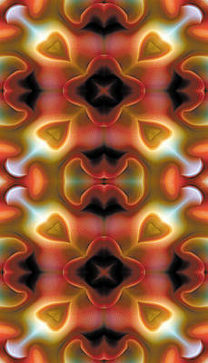 Mandala 98 For Iphone Double Poster by Terry Reynoldson