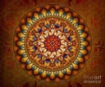 Mandala Ararat V1 Sp Poster by Bedros Awak