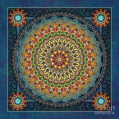 Mandala Fantasia Poster by Bedros Awak