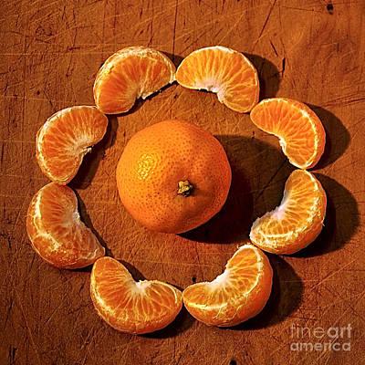 Mandarin Poster by Kaye Menner