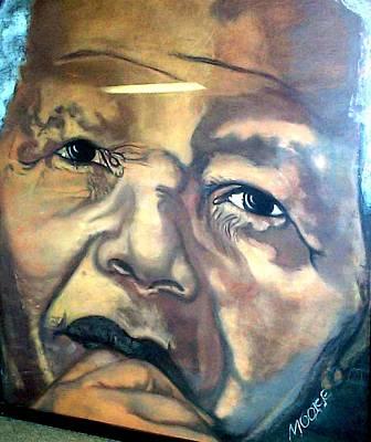 Mandela Poster by Michael Mahue Moore