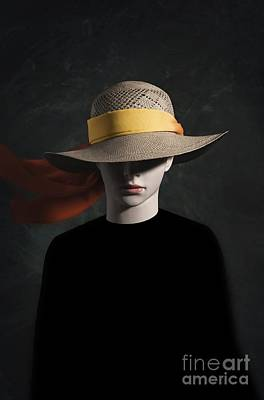 Mannequin With Hat Poster by Carlos Caetano