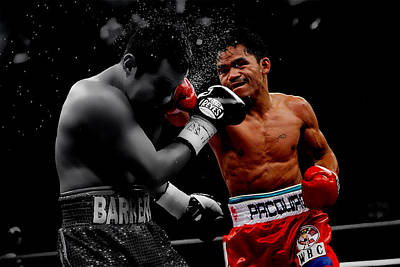 Manny Pacquiao Poster by Brian Reaves