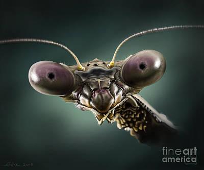 Mantis 2 Poster by Andre Koekemoer