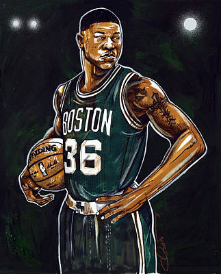 Marcus Smart Poster by Dave Olsen