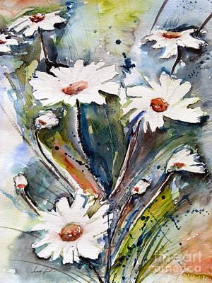 Marguerites Poster by Ismeta Gruenwald