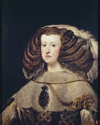 Maria Anna Marian 1634-1696. Queen Poster by Everett