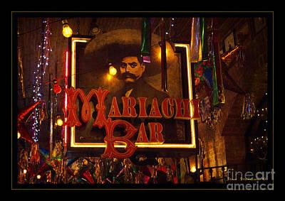 Mariachi Bar Poster by John Stephens