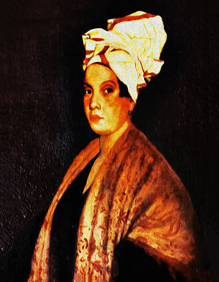 Marie Laveau - New Orleans Witch Poster by Bill Cannon