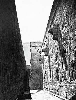 Mariette-bey Horus Temple Poster by Granger