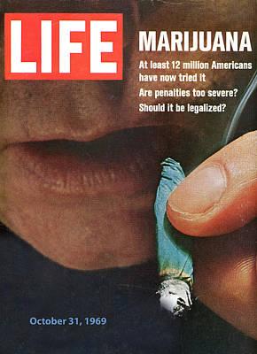 Marijuana 1969 Poster by Douglas Settle
