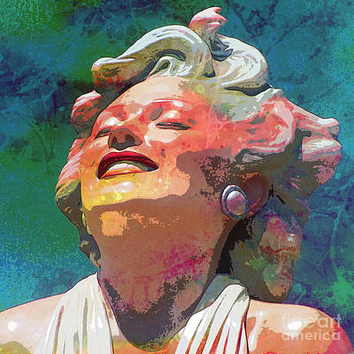 Marilyn 14 Poster by Tammera Malicki-Wong