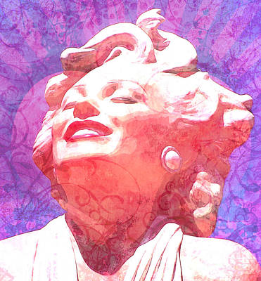Marilyn 20 Poster by Tammera Malicki-Wong