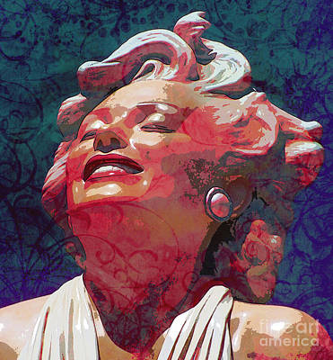 Marilyn 24 Poster by Tammera Malicki-Wong