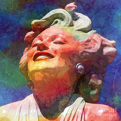 Marilyn 5 Poster by Tammera Malicki-Wong