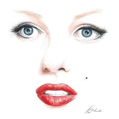Marilyn Poster by Bruce Lennon