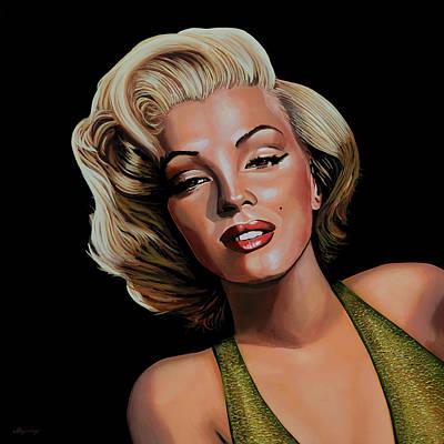 Marilyn Monroe 2 Poster by Paul Meijering