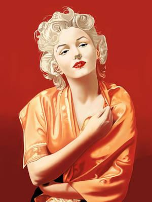 Marilyn Monroe Poster by Andrew Harrison