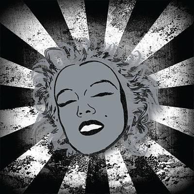 Marilyn Poster by Sara Ponte