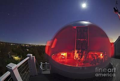 Mario Motta's Amateur Observatory, Usa Poster by Babak Tafreshi