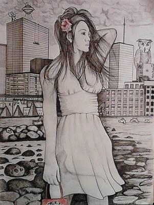 Marissa Poster by Richie Montgomery