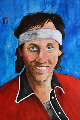 Mark Knopfler - Dire Straits Poster by Dan Haraga