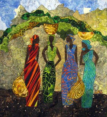 Market Day #1 Poster by Lynda K Boardman