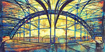 Market Street Bridge Arch Poster by Steven Llorca