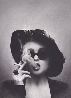 Marla Singer Poster by Brittni DeWeese