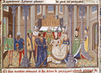 Marriage Of King John I Of Portugal Poster by British Library