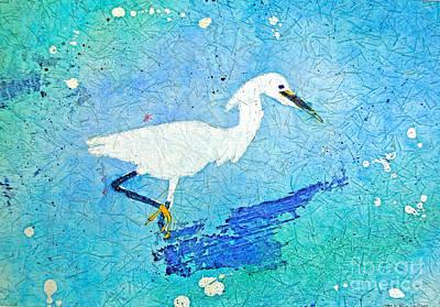 Marsh Egret Poster by Martha Kuper Brinson