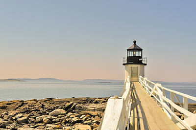 Marshall Point Lighthouse Maine Poster by Marianne Campolongo